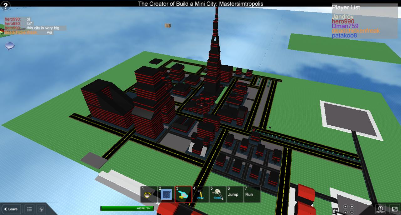 Improvised buildings: Vaktovia Roblox11
