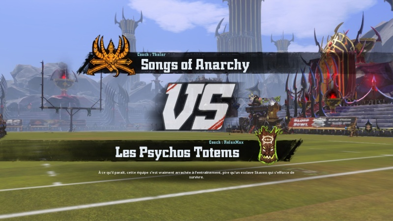[RelaxMax] Psychos Totems 1 - 0 Songs of anarchy [Thalar] 2016-014