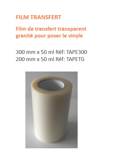 Papier ou film transfert pour vinyle ? Film10