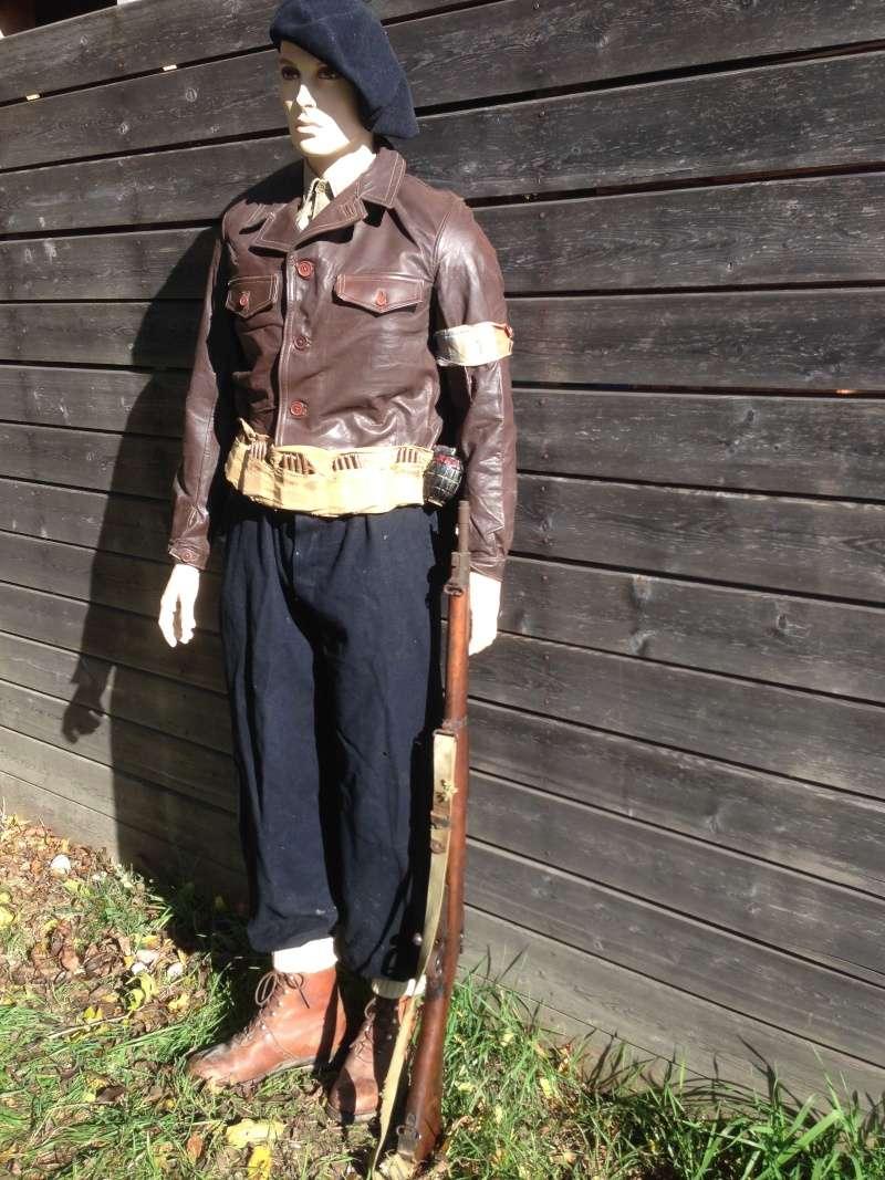 Mannequin d'un chasseur du 6ème BCA au Vercors Img_6110