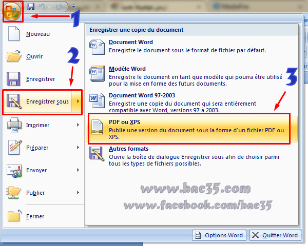 كيفية تحويل ملفات Word إلى PDF بسهولة دون برامج خارجية Screen15
