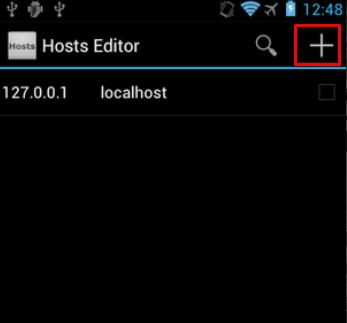 أسهل طريقة لمنع الدخول الى موقع معين في هاتف الأندرويد Hosts Editor Screen27