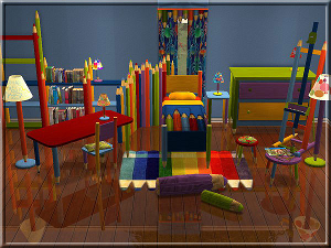 Комнаты для детей и подростков - Страница 6 Image123