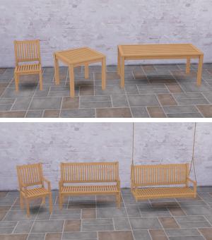 Патио, скамейки, пикники Image149