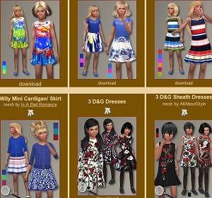 Для детей (платья, туники, комлекты с юбками) Image161