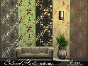 Обои, полы (цветочные узоры) Image352