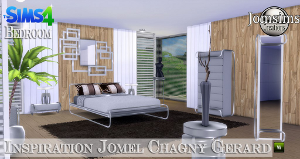 Спальни, кровати (модерн) Image534