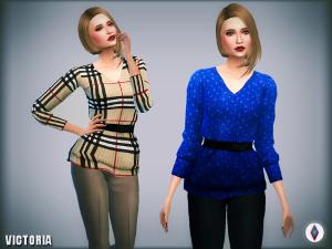 Повседневная одежда (топы, рубашки, свитера) - Страница 3 Image540