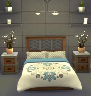 Спальни, кровати (модерн) - Страница 2 Image617