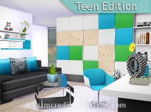 Комнаты для детей и подростков      - Страница 2 Image635