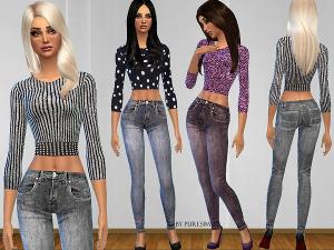 Повседневная одежда (комплекты с брюками, шортами)   - Страница 2 Image85