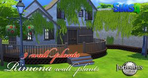Растительность (кусты, деревья, камни) Image867