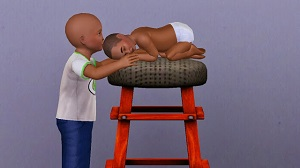Детские позы, позы с детьми - Страница 10 W-600h96