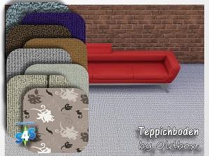 Обои, полы (ковровое покрытие) Wsuban38
