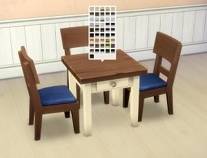 Кухни, столовые (деревенский стиль) Wsuban51