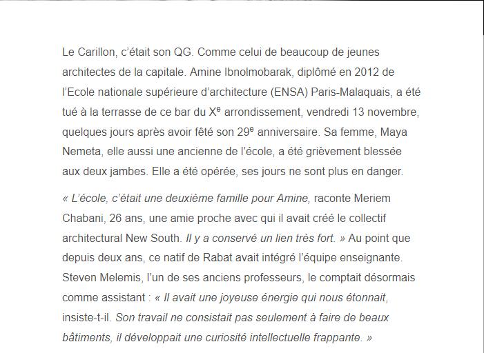 PARIS 13/11/2015 - Page 2 Amine_11