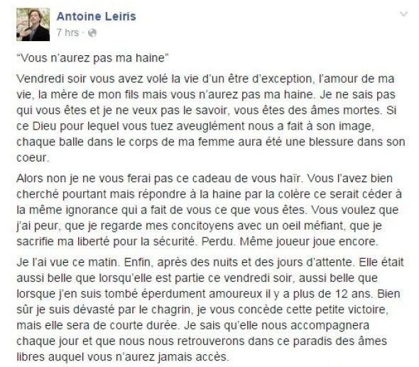 PARIS 13/11/2015 - Page 4 Antoin10