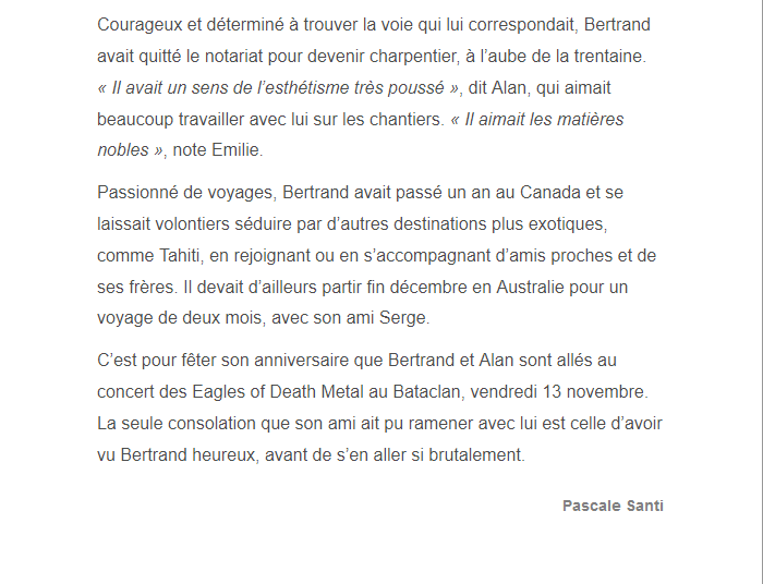 PARIS 13/11/2015 - Page 5 Bertra13