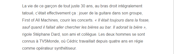PARIS 13/11/2015 - Page 4 Cydric12