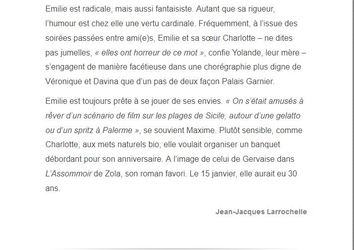 PARIS 13/11/2015 - Page 5 Emilie13