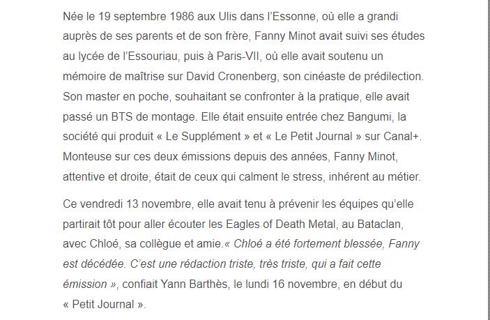 PARIS 13/11/2015 - Page 4 Fanny_13