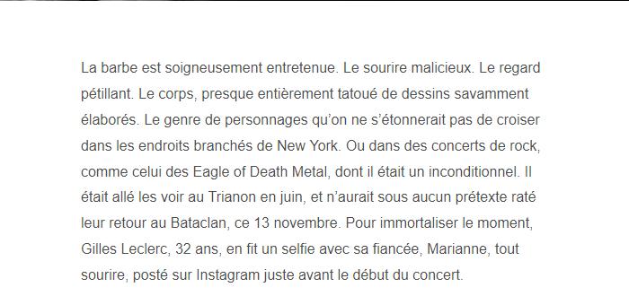 PARIS 13/11/2015 - Page 2 Gilles11