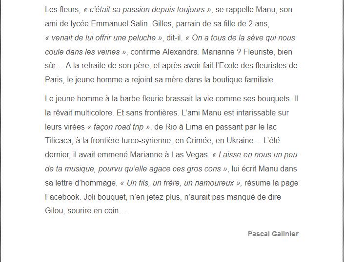PARIS 13/11/2015 - Page 2 Gilles13