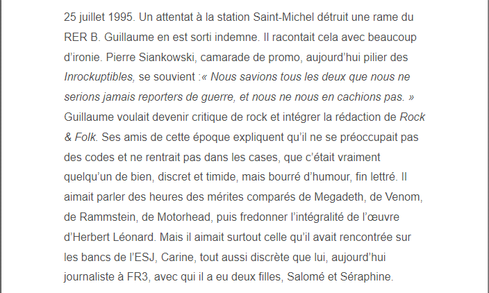 PARIS 13/11/2015 - Page 2 Guilla16