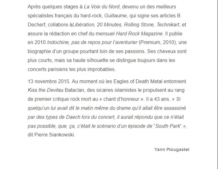 PARIS 13/11/2015 - Page 2 Guilla17