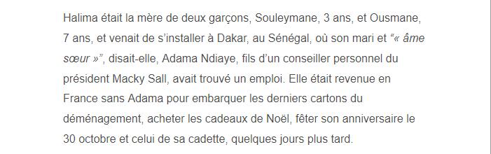 PARIS 13/11/2015 - Page 5 Halima12