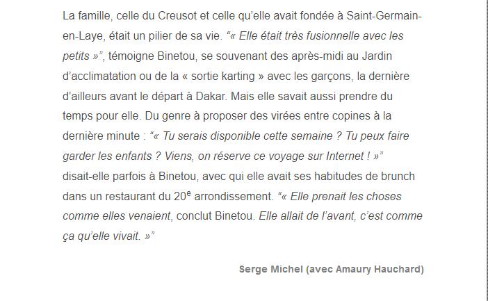 PARIS 13/11/2015 - Page 5 Halima14