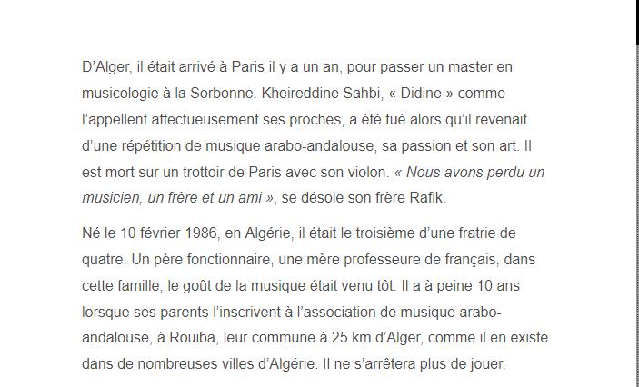PARIS 13/11/2015 - Page 2 Kheire11