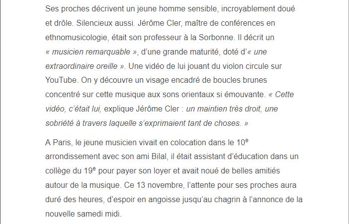 PARIS 13/11/2015 - Page 2 Kheire13