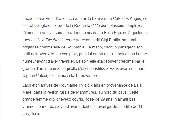 PARIS 13/11/2015 - Page 2 Lacram11