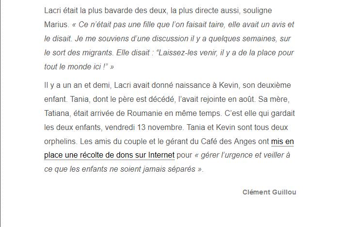PARIS 13/11/2015 - Page 2 Lacram13