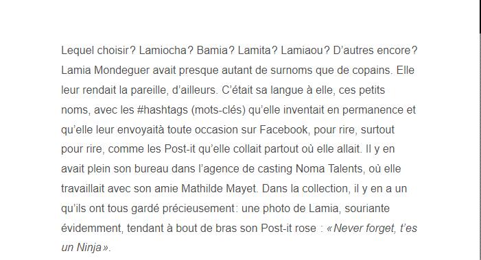 PARIS 13/11/2015 - Page 5 Lamia_11