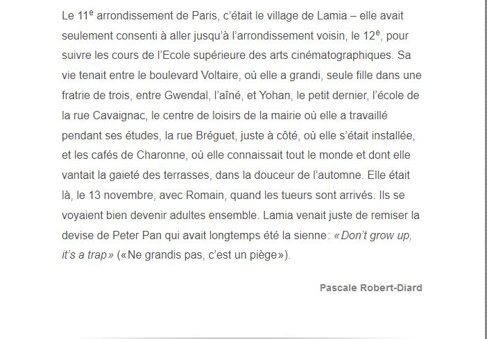 PARIS 13/11/2015 - Page 5 Lamia_13