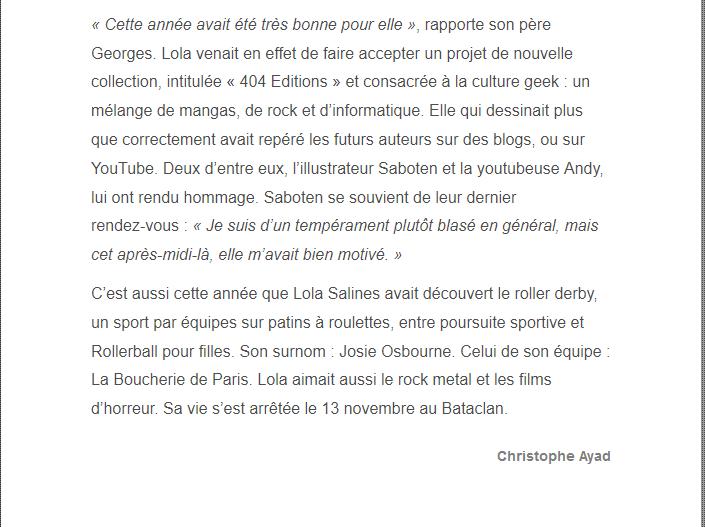 PARIS 13/11/2015 - Page 5 Lola_310