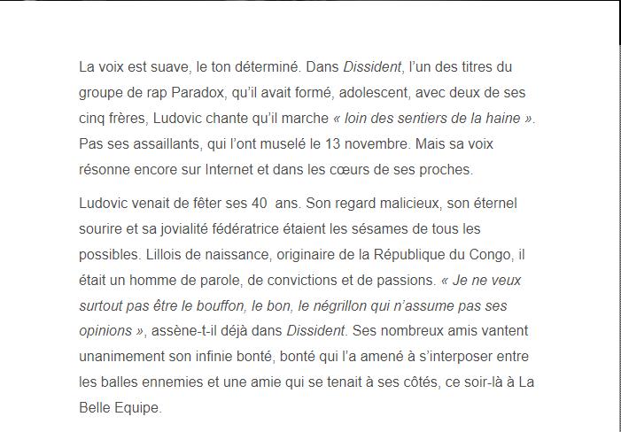 PARIS 13/11/2015 - Page 5 Ludovi11