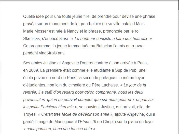 PARIS 13/11/2015 - Page 4 Marie_11