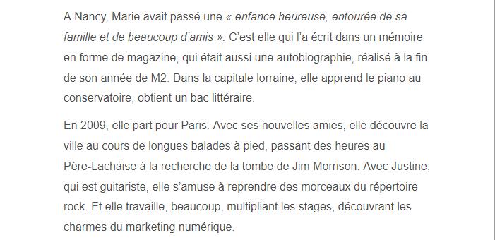 PARIS 13/11/2015 - Page 4 Marie_12