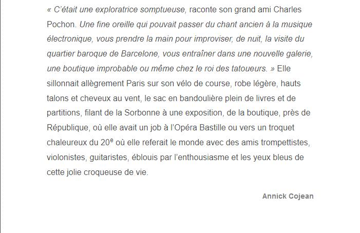 PARIS 13/11/2015 - Page 2 Marion13