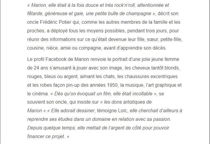 PARIS 13/11/2015 - Page 2 Marion16