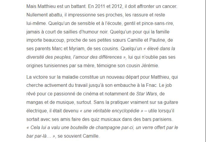 PARIS 13/11/2015 - Page 2 Matthi11