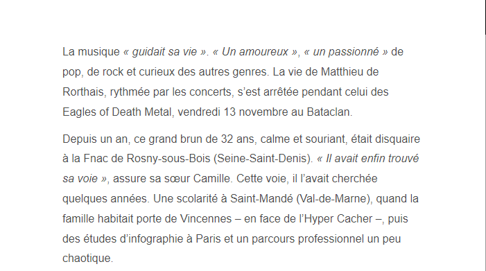 PARIS 13/11/2015 - Page 2 Matthi13
