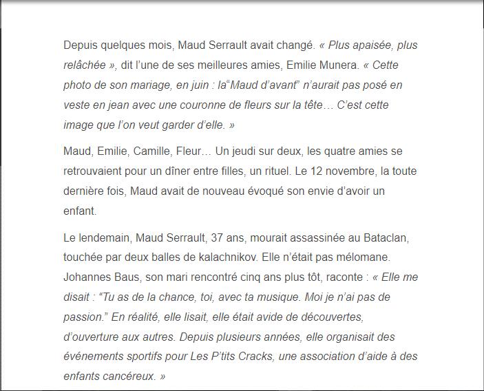 PARIS 13/11/2015 - Page 5 Maud_110