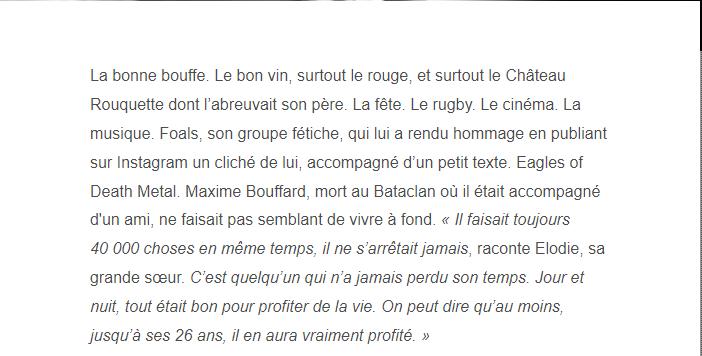 PARIS 13/11/2015 - Page 4 Maxime11