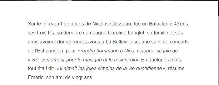 PARIS 13/11/2015 - Page 5 Nicola16