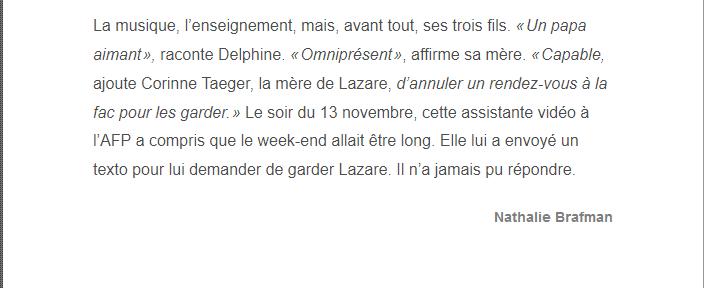 PARIS 13/11/2015 - Page 5 Nicola19