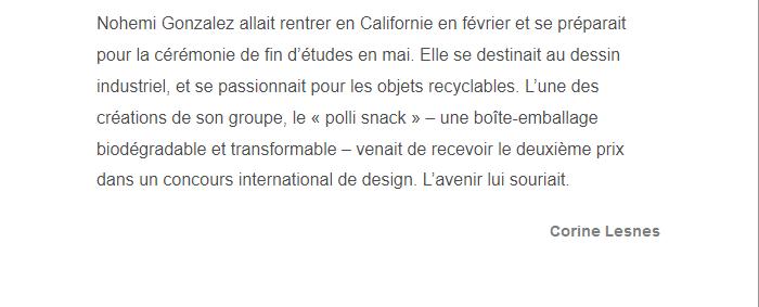 PARIS 13/11/2015 - Page 2 Nohemi14